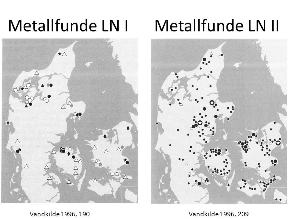 Metallfunde LN IMetallfunde LN II Vandkilde 1996, 190Vandkilde 1996, 209