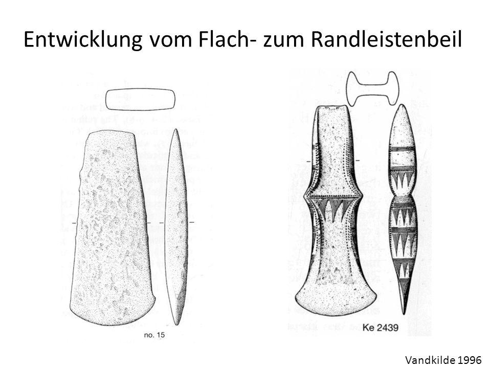 Entwicklung vom Flach- zum Randleistenbeil Vandkilde 1996