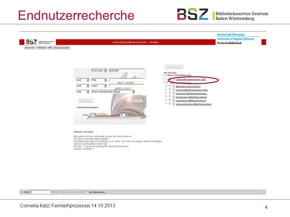5 Endnutzerrecherche Workflow in Bezug auf die ZDB: Recherche in der ZDB Ergebnis positiv: Betätigung Fernleihbutton Übermittlung Idn und Verbund an ZFL-Server (Antwort zu Frage 2: Welche Datenelemente werden von den Verbünden ausgewertet) Nachrecherche mit Bestandsprüfung im Verbund (Z39.50, Unimarc) positiv: Fernleihbestellung wird im Verbund ausgeführt negativ: - Recherche in SWB Gesamte ZDB-Titeldatei(Z39.50, Unimarc) zwecks Ermittlung weiterer Infos (z.B.