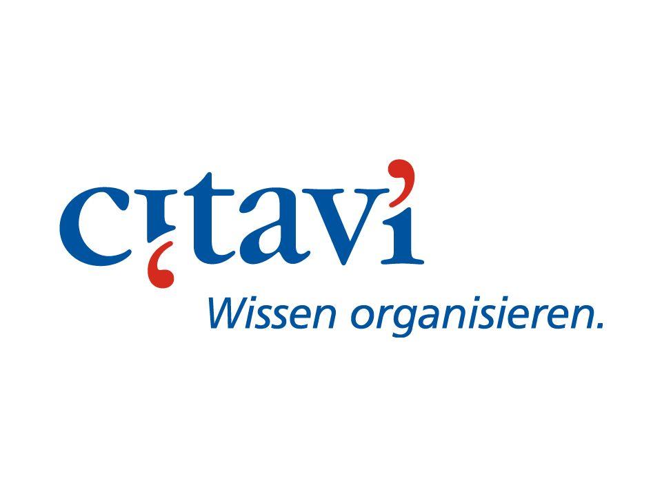 Citavi im Prozess der wissenschaftlichen Arbeit ErfassungPlanungStudium Wissens- aufbau Publikation Citavi ist ein professionelles Arbeitsmittel für Wissenschaftler und Studierende.