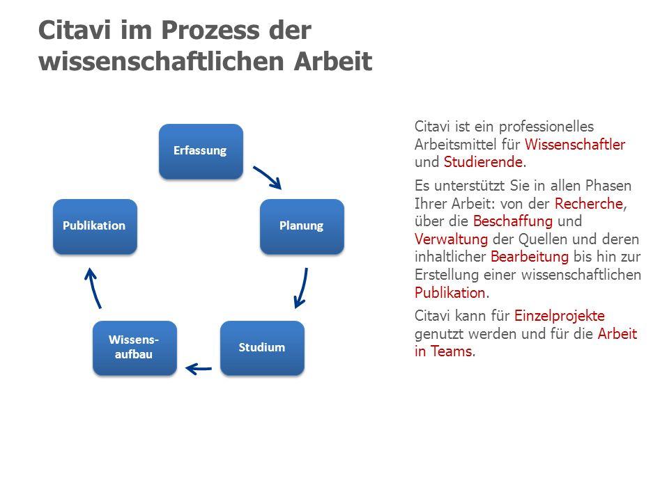 Weitere Ressourcen Forum www.citavi.com/forum Häufig gestellte Fragen (FAQ) www.citavi.com/faq Weitere Angebote unter www.citavi.com/hilfe Weitere Angebote unter www.citavi.com/hilfe Handbuch www.citavi.com/manual4 13