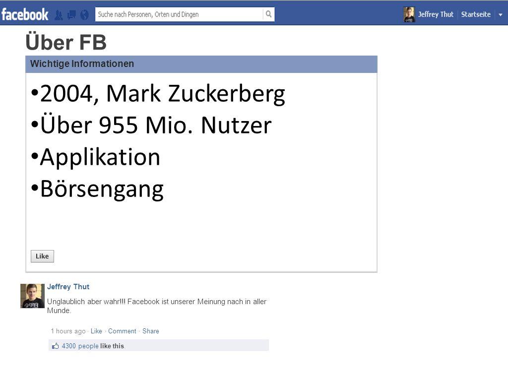 Über FB Unglaublich aber wahr!!. Facebook ist unserer Meinung nach in aller Munde.
