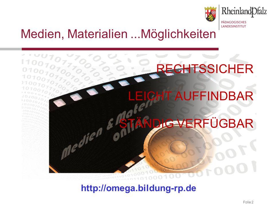 Folie 3 Die Medienauswahl auf dem Server Kommerzielle Onlinemedien (als Medienbausteine) 40 Landeslizenzen Kreis-Online-Lizenzen (Angebot je nach Landkreis/Stadt) Schulfernsehproduktionen Planet-Schule (SWR & WDR) Lexi-TV (MDR) BR (u.a.