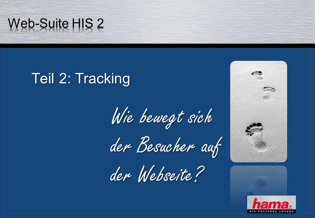 Teil 2: Tracking Wie bewegt sich der Besucher auf der Webseite