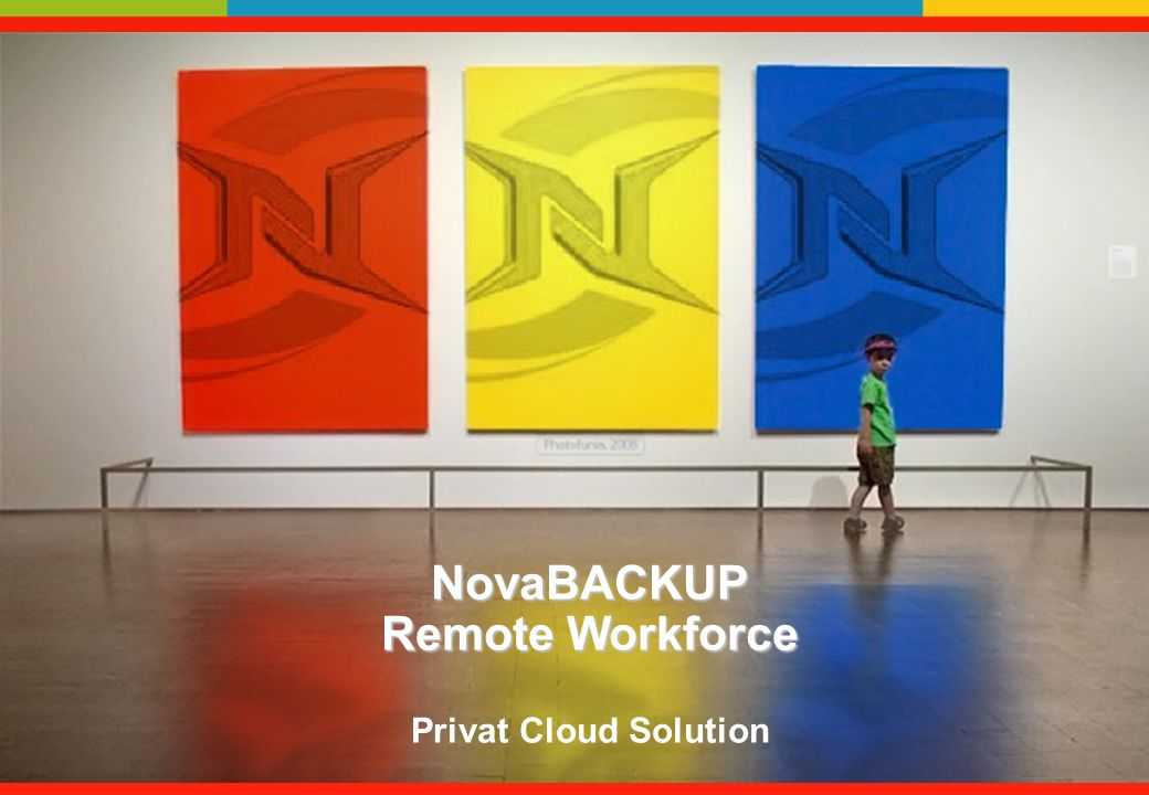 NovaBACKUP Remote Workforce NovaBACKUP Remote Workforce Privat Cloud Solution