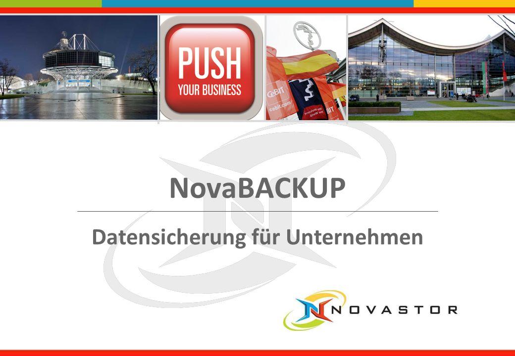NovaBACKUP Datensicherung für Unternehmen