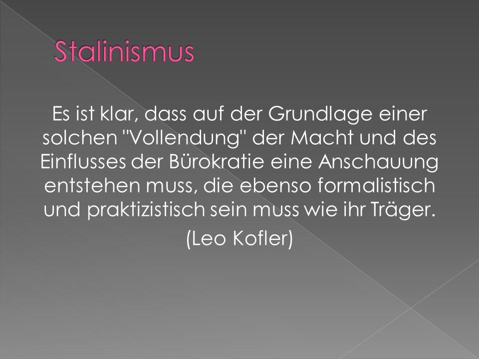 Der kluge Idealismus steht dem klugen Materialismus näher als der dumme Materialismus. (Lenin) Marxismus und Stalinismus scheiden sich wie kluger und