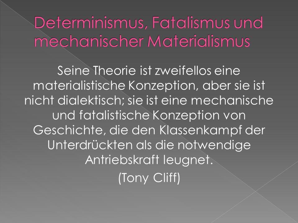 Dogmatismus wird von Menschen praktiziert, die dazu übergegangen sind, den Marxismus- Leninismus als etwas Abgeschlossenes, Statisches, Äußeres zu bet
