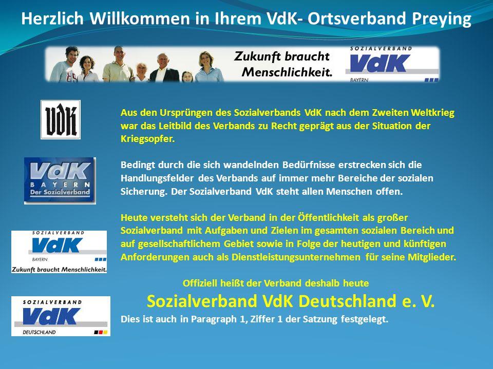 Mit bundesweit über 1,5 Millionen Mitgliedern ist der VdK die größte Selbsthilfe- Organisation in Deutschland.