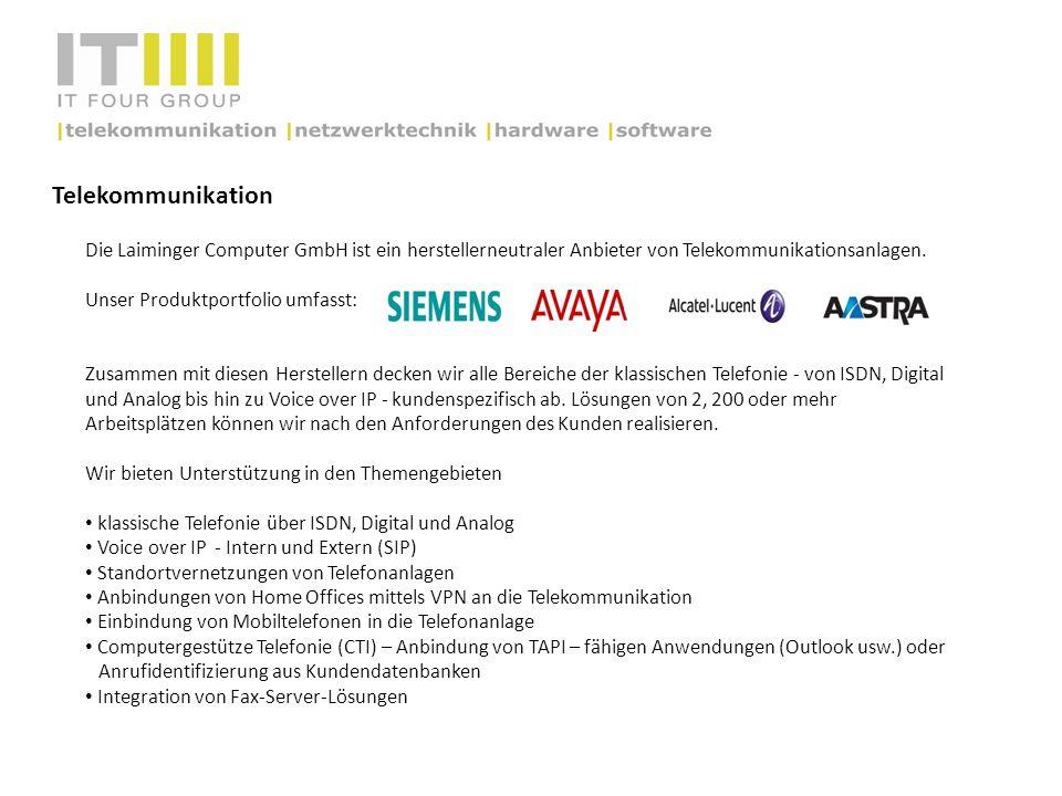 Telekommunikation Die Laiminger Computer GmbH ist ein herstellerneutraler Anbieter von Telekommunikationsanlagen. Unser Produktportfolio umfasst: Zusa