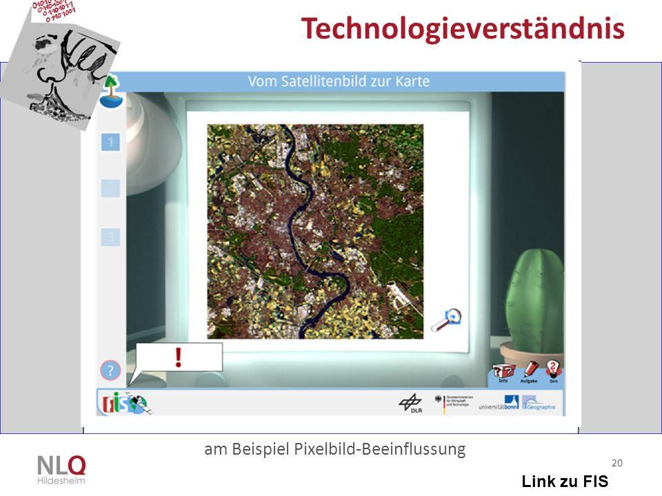 20 Technologieverständnis am Beispiel Pixelbild-Beeinflussung Link zu FIS
