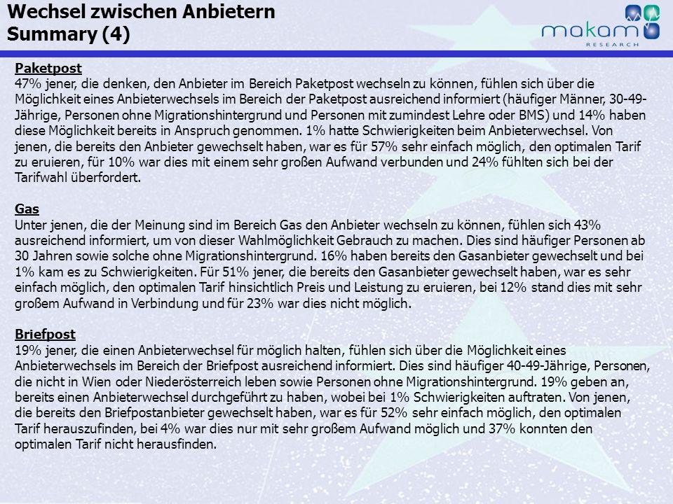 Auf Fakten setzen, auf Menschen zählen KonsumentInnen-Barometer April 2013 Auf Fakten setzen, auf Menschen zählen Seite 197 Paketpost 47% jener, die d