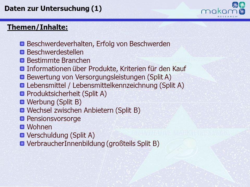 Auf Fakten setzen, auf Menschen zählen KonsumentInnen-Barometer April 2013 Auf Fakten setzen, auf Menschen zählen Seite 75 7 von 10 ÖsterreicherInnen können ungestützt mindestens eine Beschwerdestelle nennen.