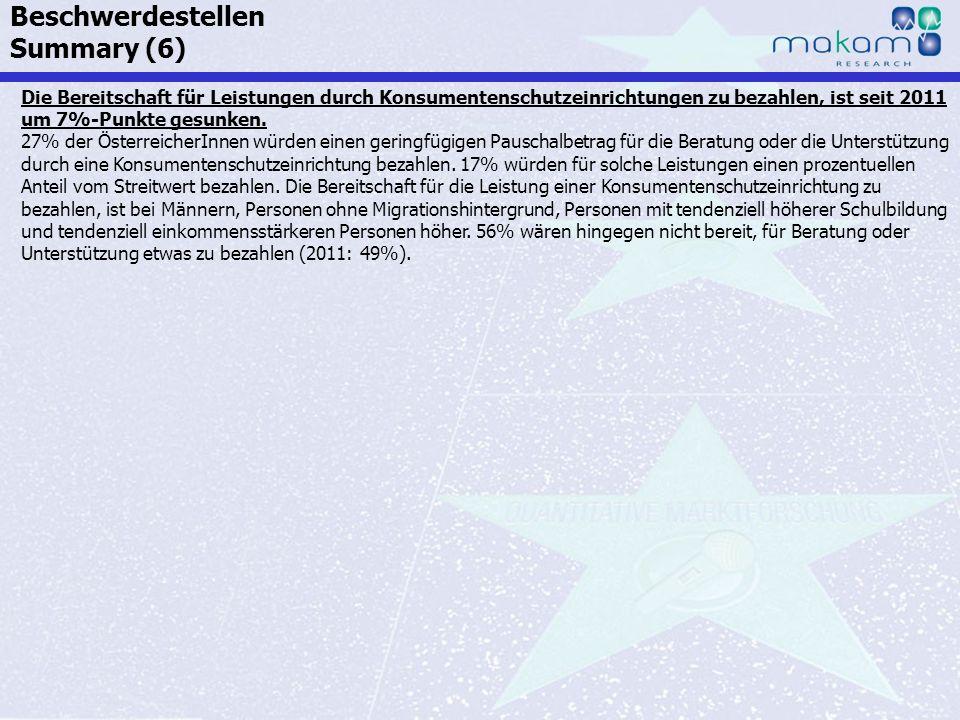 Auf Fakten setzen, auf Menschen zählen KonsumentInnen-Barometer April 2013 Auf Fakten setzen, auf Menschen zählen Seite 80 Die Bereitschaft für Leistu