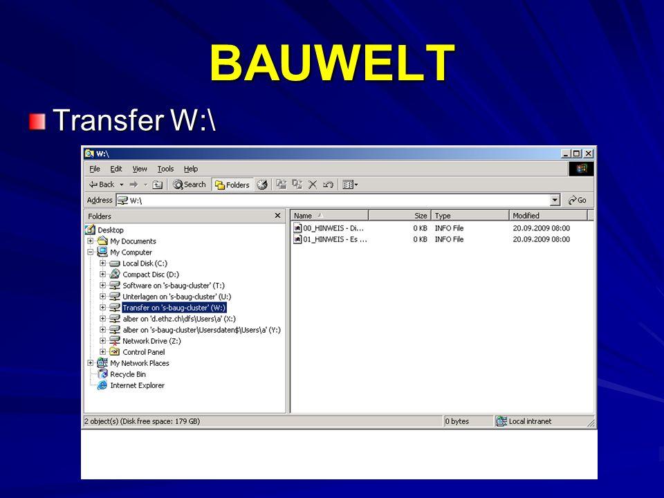BAUWELT Transfer W:\