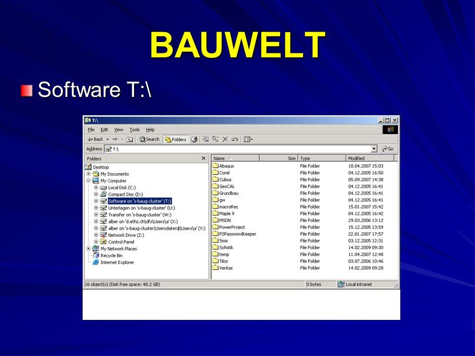 BAUWELT Software T:\