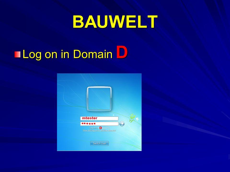 BAUWELT PC nicht am Netz