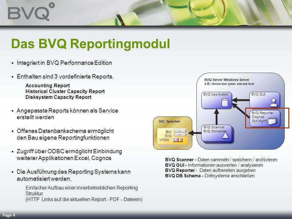 Page 25 Weitere Produkte und Anwendungen … Reporting / System Management … Alle Reportingsystem, die auf die Datenbank (DB2) zugreifen können z.B.