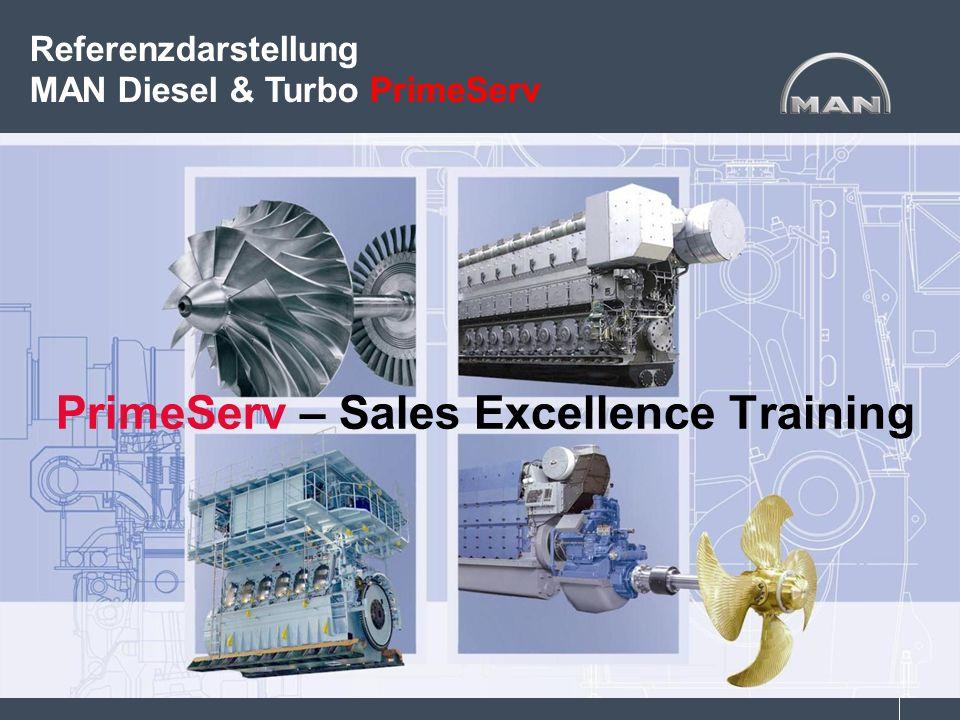 PrimeServ – Sales Excellence Training Referenzdarstellung MAN Diesel & Turbo PrimeServ