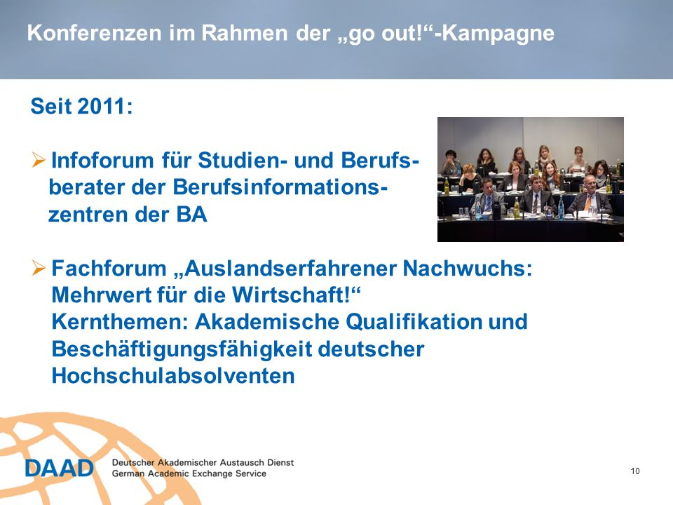 go out.studieren weltweit in Printmedien: go out.