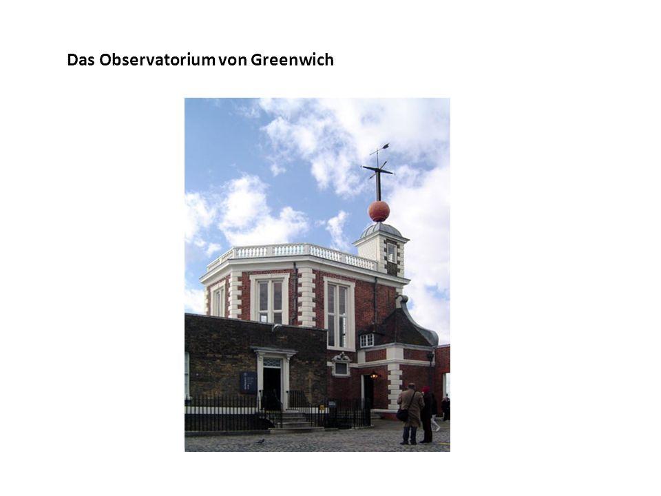 Das Observatorium von Greenwich