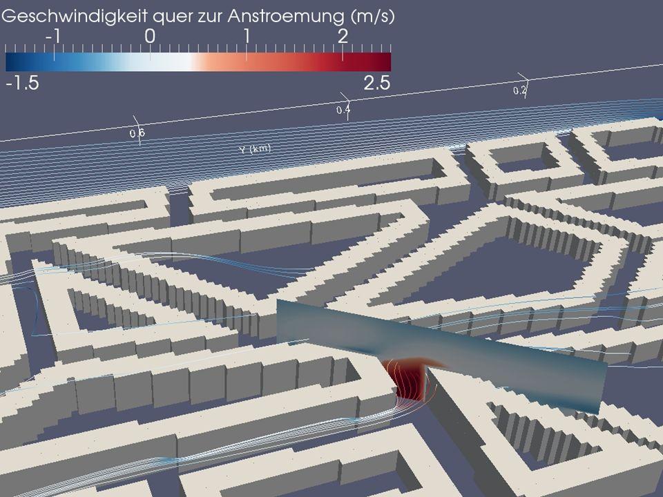 07.10.2013 Reuter & Letzel: Innovative Darstellungsmethoden 11 Ingenieurbüro Lohmeyer GmbH & Co. KG Karlsruhe und Dresden Beispiel 2 Windberechnung: S