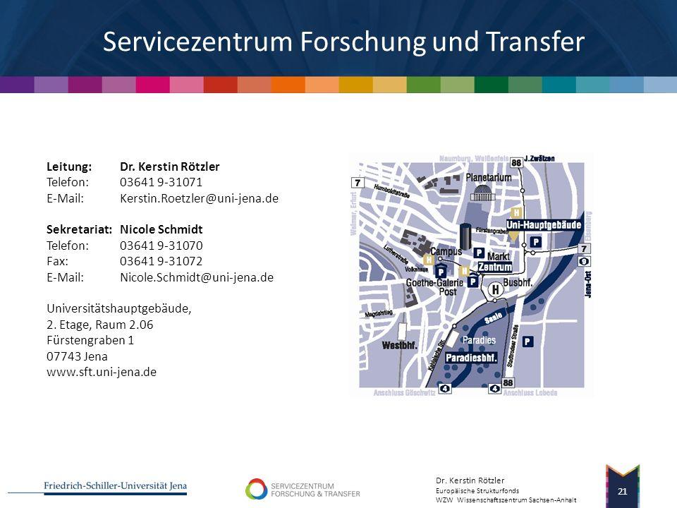 Ihre Fragen? Das Servicezentrum Forschung und Transfer unterstützt die Wissenschaftler und Wissenschaftlerinnen der Friedrich-Schiller-Universität Jen