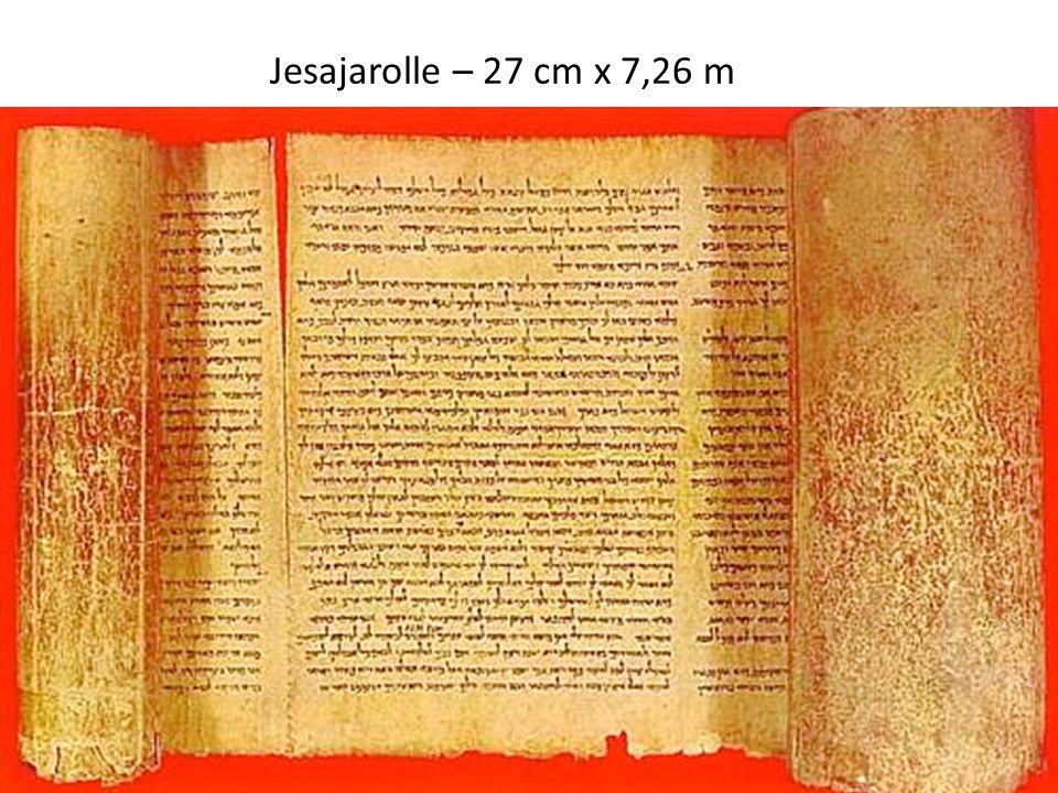 Jesajarolle – 27 cm x 7,26 m