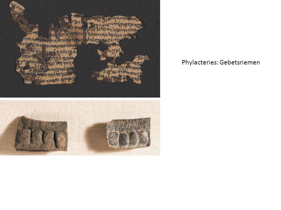 Phylacteries: Gebetsriemen