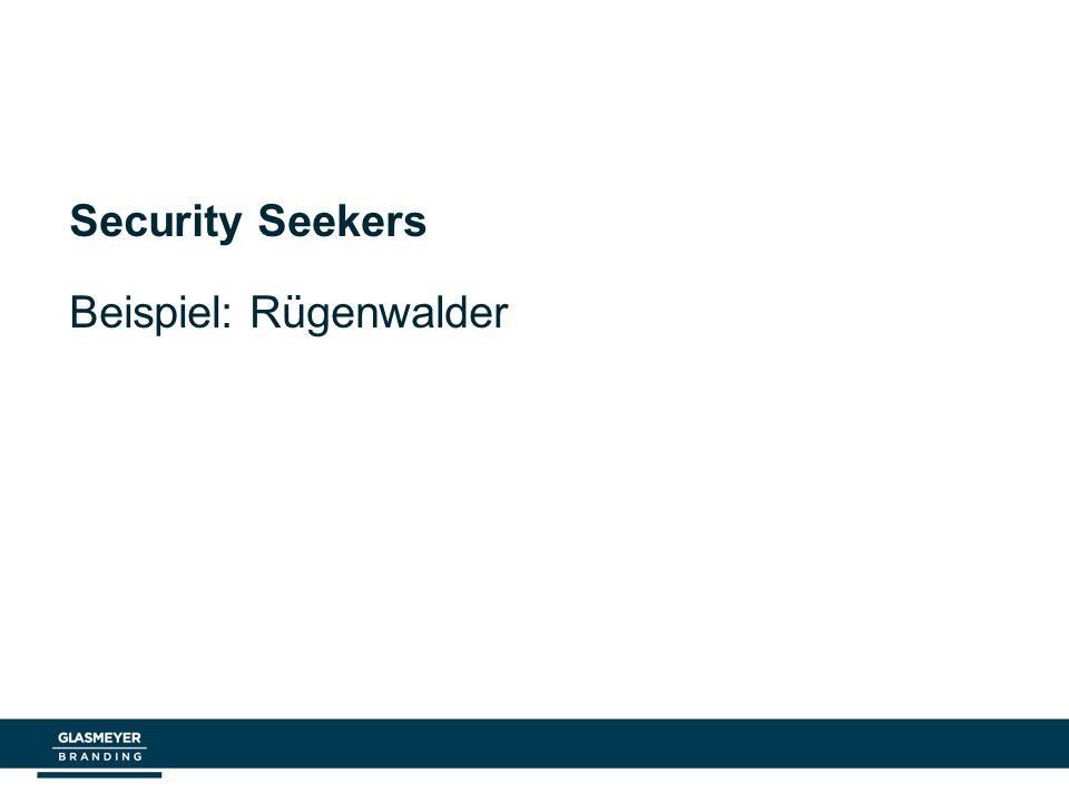 Security Seekers Beispiel: Rügenwalder