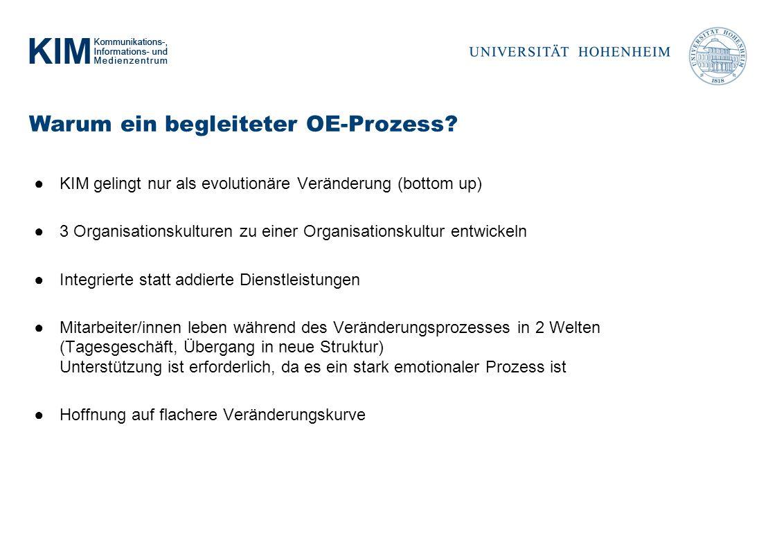 Warum ein begleiteter OE-Prozess.