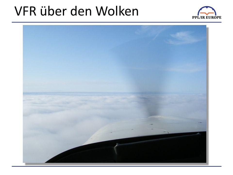 VFR über den Wolken