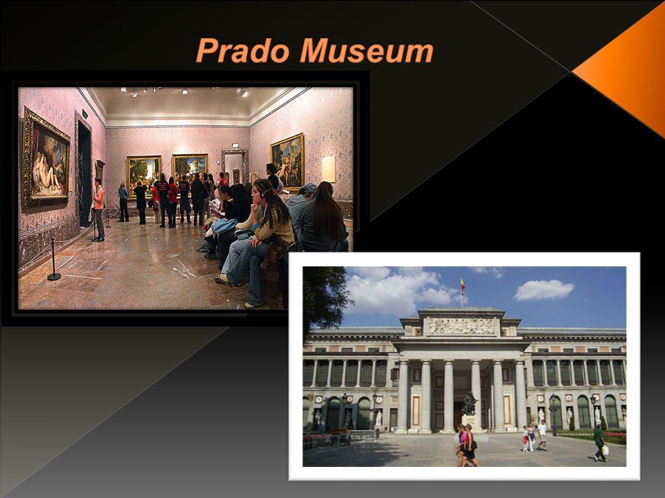 Das Museo del Prado (spanisch prado Wiese) in Madrid, Spanien, ist eines der größten und bedeutendsten Kunstmuseen der Welt.