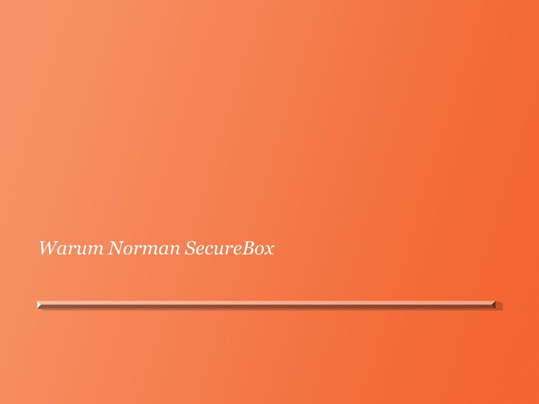 Warum Norman SecureBox