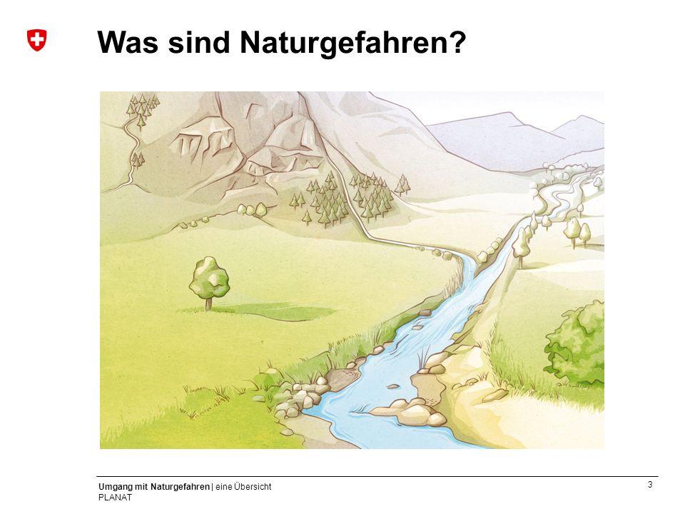 3 Umgang mit Naturgefahren | eine Übersicht PLANAT Was sind Naturgefahren?
