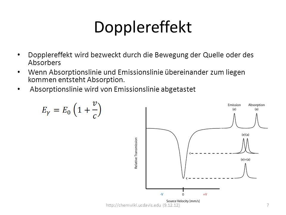 Hyperfeine Wechselwirkungen Hyperfeinwechselwirkungen werden bezweckt durch Wechselwirkungen zwischen der Elektronenhülle und den Atomkernen.