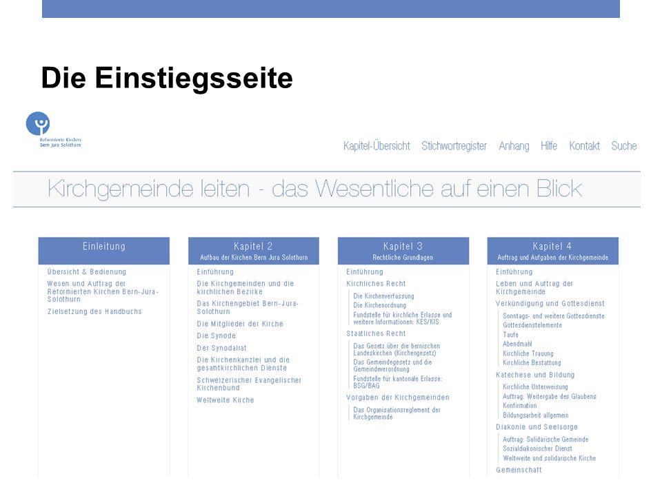 Die Einstiegsseite Reformierte Kirchen Bern-Jura-Solothurn 3