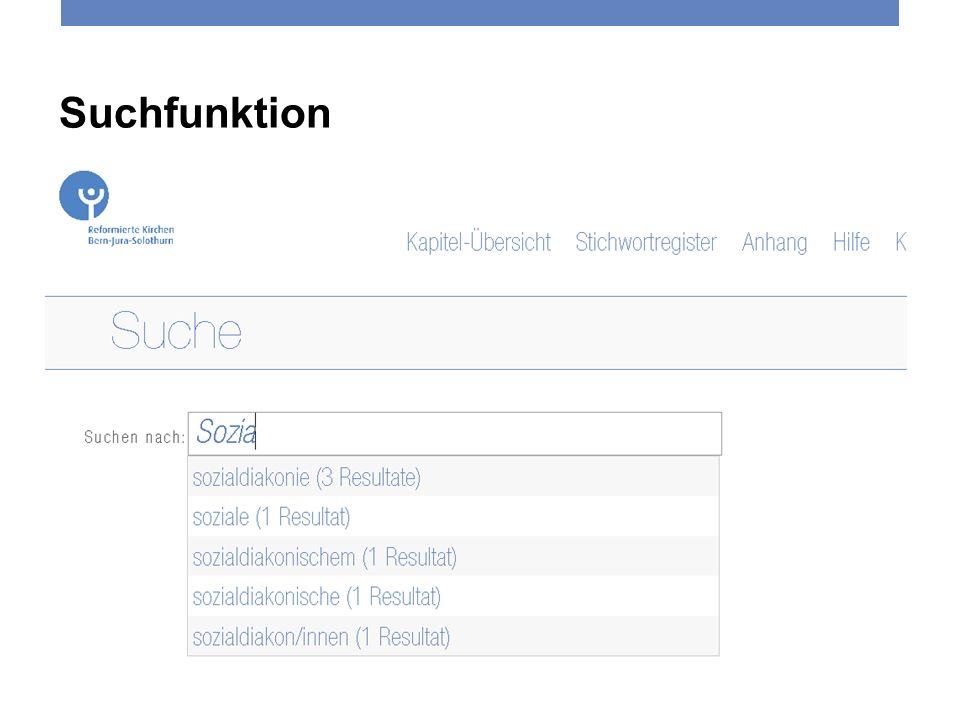 6 Suchfunktion