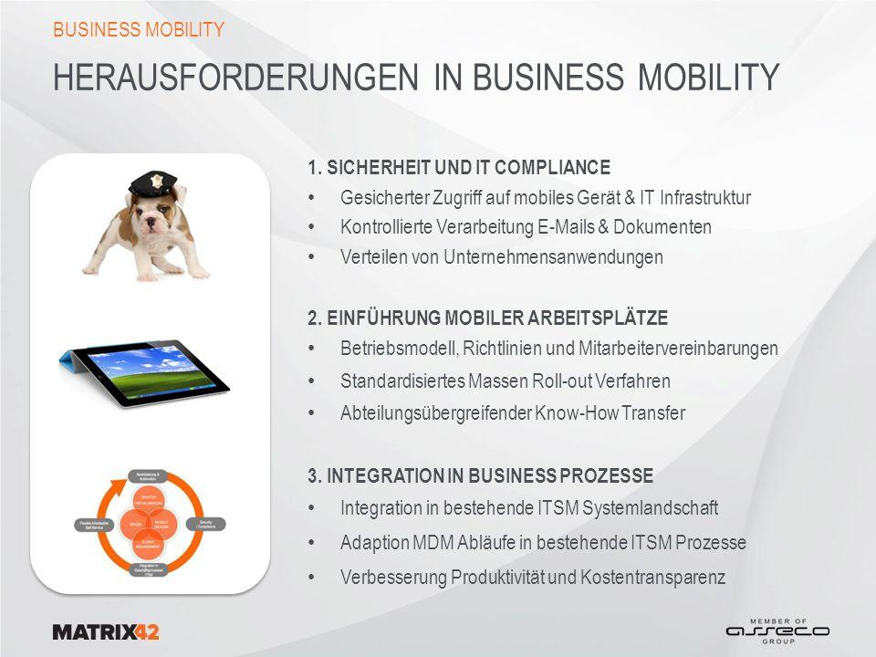 INTEGRIERTE MDM REGISTRIERUNGSPROZESSE API INTEGRATION ZUR MDM LÖSUNG Nach erfolgter Genehmigung beginnt die automatisierte Bereitstellung (Enrollment) auf dem mobilen Endgerät.