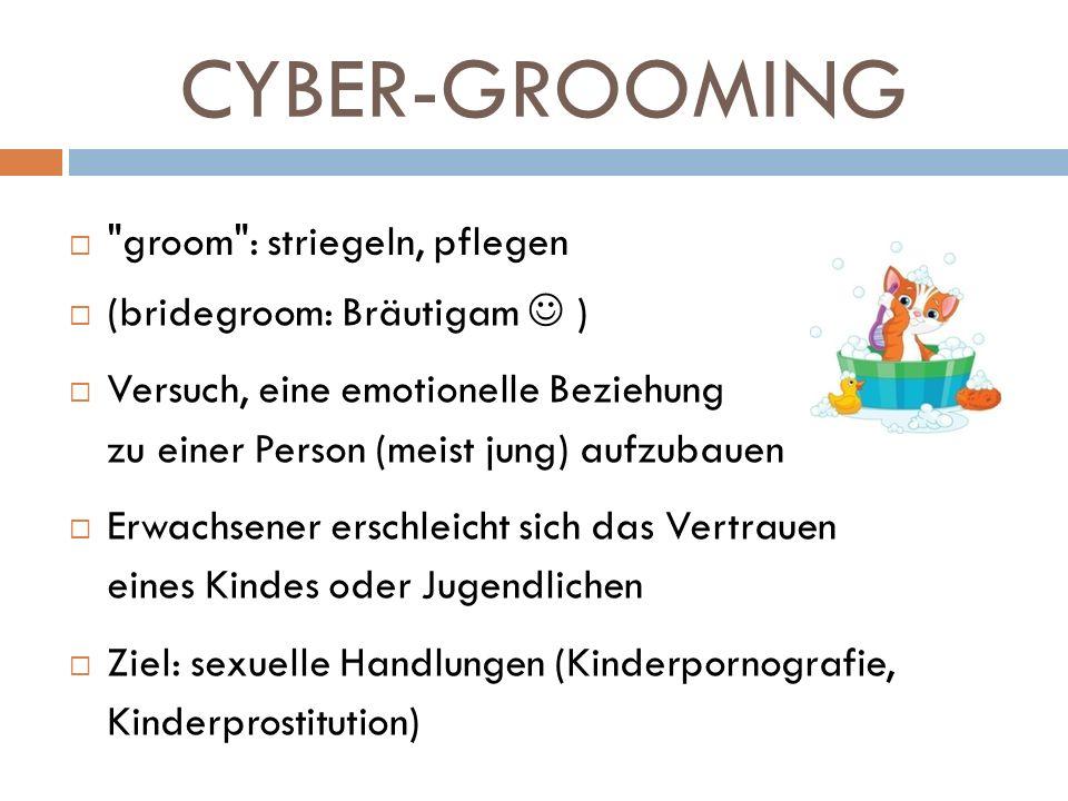 CYBER-GROOMING