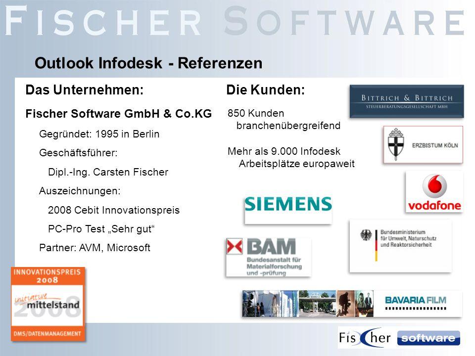 Fischer Software GmbH & Co.KG Gegründet: 1995 in Berlin Geschäftsführer: Dipl.-Ing. Carsten Fischer Auszeichnungen: 2008 Cebit Innovationspreis PC-Pro