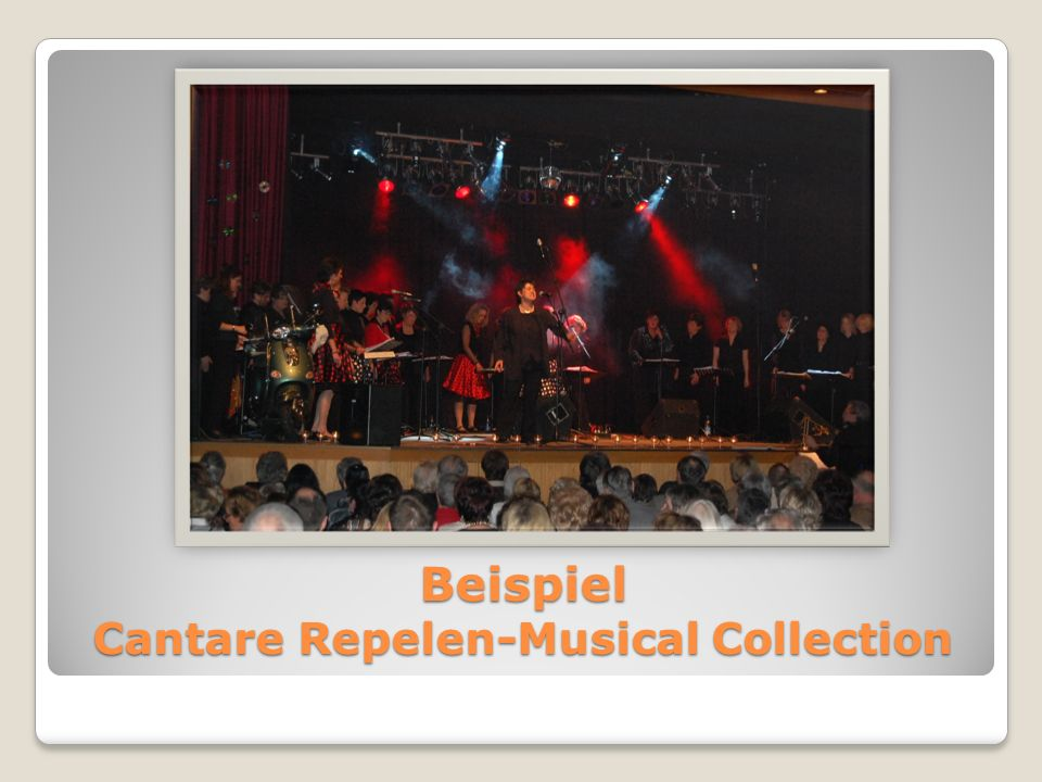 Beispiel Cantare Repelen-Musical Collection