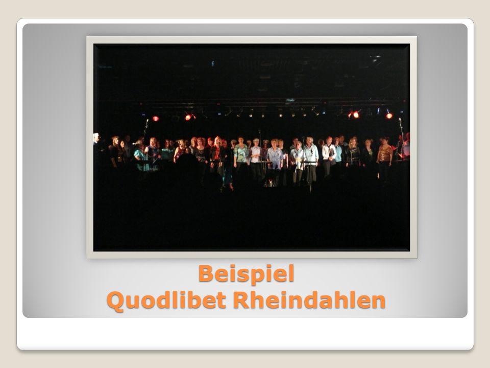 Beispiel Quodlibet Rheindahlen