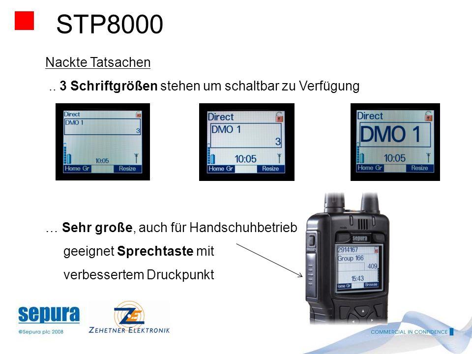 STP8000 Nackte Tatsachen. Wird für den operativen Einsatz in rauer und anspruchsvoller Umgebung gebaut …IP 55 auch ohne Abdeckung der Schnittstellen …