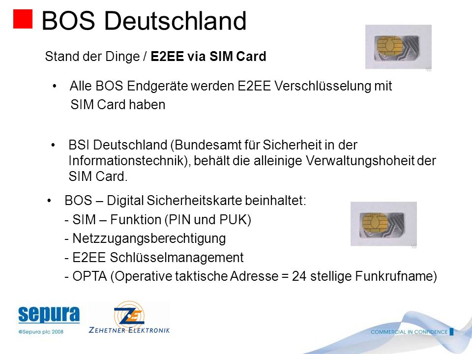 Stand der Dinge / Netzaufbau Stand Anfang Oktober 2008 BOS Deutschland In den sogenannten Starter – Ländern: Baden Württembergca. 15 Basis Stationen B