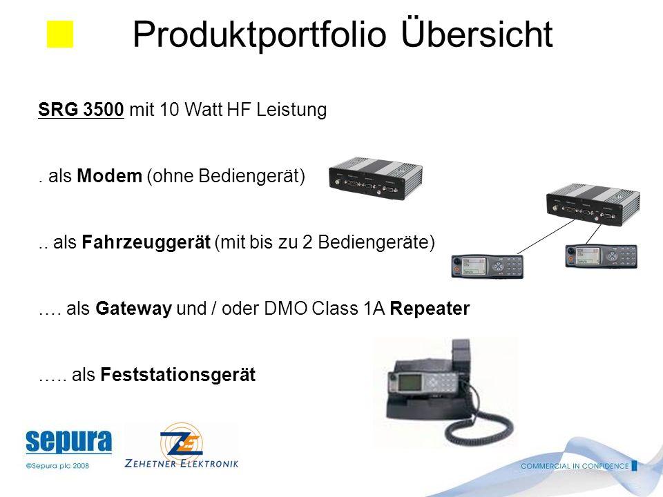 SRG 3500 mit 10 Watt HF Leistung.als Modem (ohne Bediengerät)..