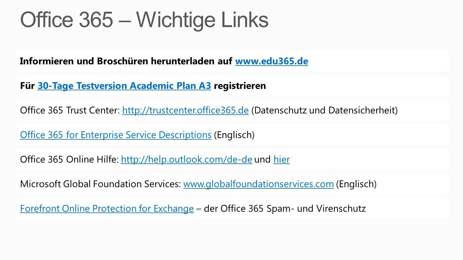 Informieren und Broschüren herunterladen auf www.edu365.dewww.edu365.deFür 30-Tage Testversion Academic Plan A3 registrieren30-Tage Testversion Academ
