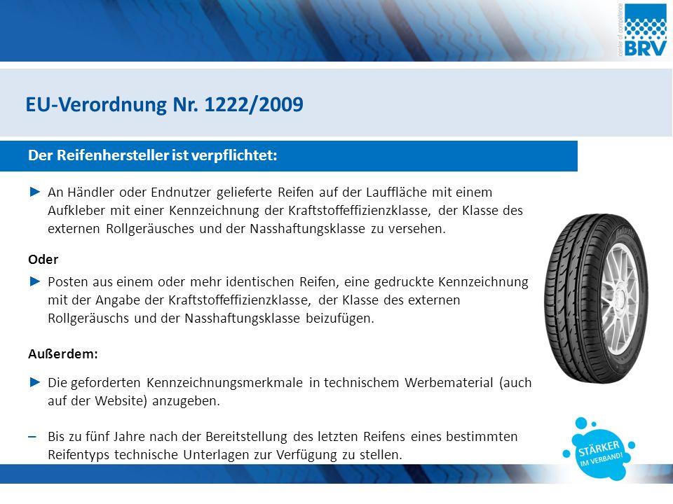 Hier steht eine Headline Subheadline Reifentechnische Betrachtungen Reifenlabel vs.