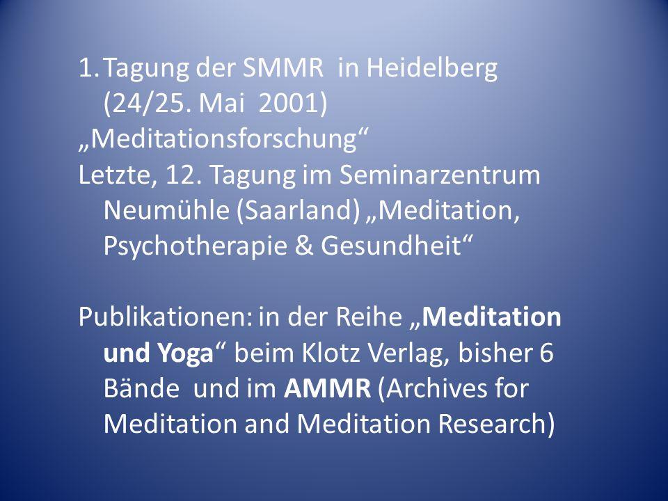 Weitere SMMR-Kooperationspartner bzw.Synergien Oberberg Kliniken/ -Stiftung: 1.