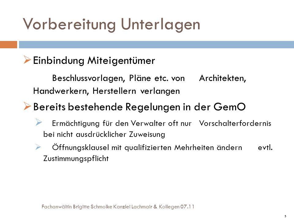 6 Umswitchen.Beschluss über Modernisierung nach § 22 Abs.